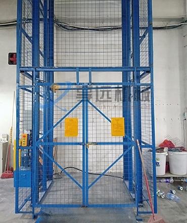 货用升降机的检测