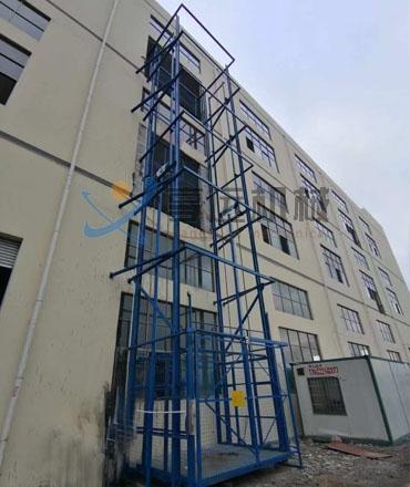货用升降机附接的装置可以配置成根据需要执行任何组合