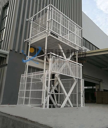 江门大型剪叉式升降平台